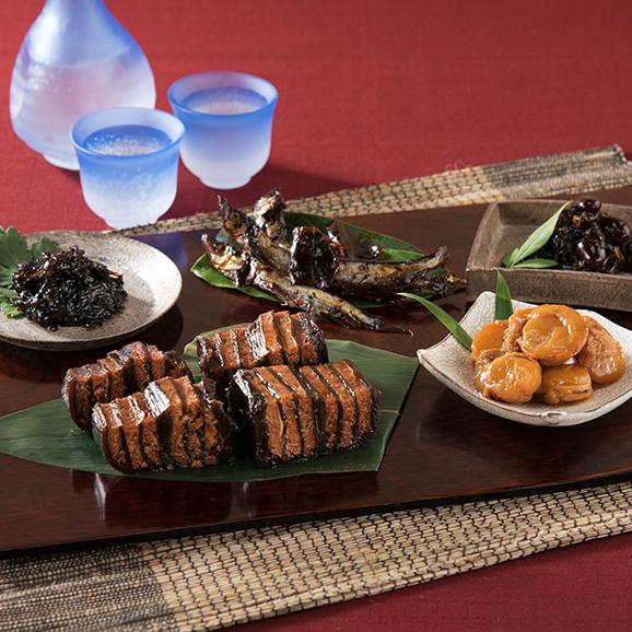 紅鮭重ね巻き甘露煮セット01