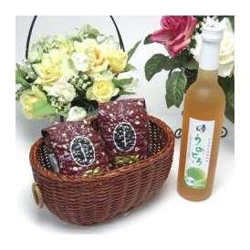母の日♪【贈り物】完熟梅の味わいと日本酒のうまみをたっぷりの梅リキュール うめとろ500ml 7%奥の松酒造(福島県)+オススメ珈琲豆(特注ブレンド200g、ハッピーブレンド200g)