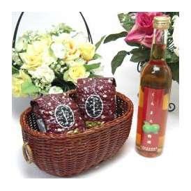 母の日♪【贈り物】優しい甘み香りの梅酒好きな方へ♪本場紀州産の梅を使用した梅酒 くちまろ梅酒 500ml  +オススメ珈琲豆(特注ブレンド200g、ハッピーブレンド200g)
