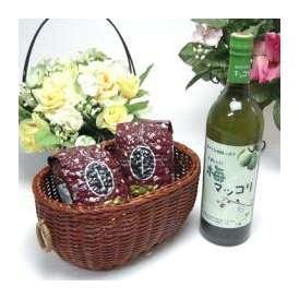 母の日♪【贈り物】皮が薄く果肉が多い梅を使用 梅マッコリ 750ml(韓国)+オススメ珈琲豆(特注ブレンド200g、ハッピーブレンド200g)