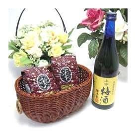 母の日♪【贈り物】梅酒にハマッてる方へ♪無添加 上等梅酒 720ml+オススメ珈琲豆(特注ブレンド200gハッピーブレンド200g)