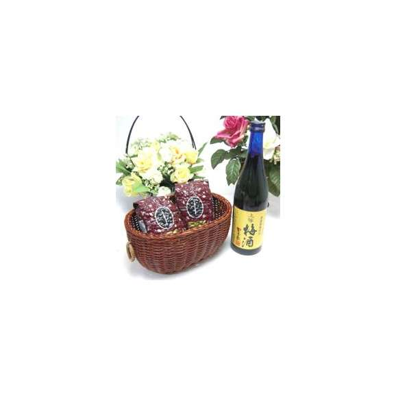 母の日♪【贈り物】梅酒にハマッてる方へ♪無添加 上等梅酒 720ml+オススメ珈琲豆(特注ブレンド200gハッピーブレンド200g)01
