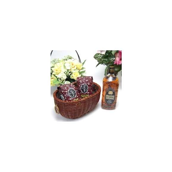 母の日♪【贈り物】ドライな味わいをベースにしたしっかりした濃い味わいサントリー 角瓶 黒 43゜700ml+オススメ珈琲豆(特注ブレンド200g、ハッピーブレンド200g)01