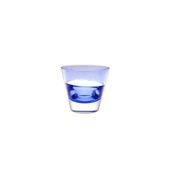 【送料無料】【名入れ】パーソナルグラス オールドブルー レリーフグラス