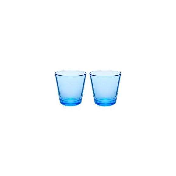 【送料無料】【名入れ】イッタラ カルティオ タンブラーペア ライトブルー レリーフグラス