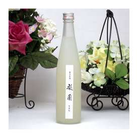 日田の名産の梨から出来た なしのお酒 梨園(りえん) 500ml老松酒造 【女性に人気のリキュール】
