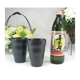 【送料無料】酒器セット(黒糖焼酎 喜界島900ml) 【酒器セット】
