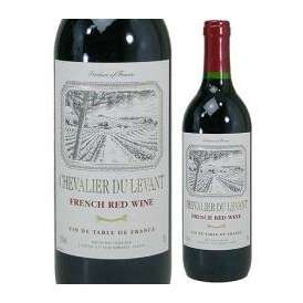 【円高還元セール】フランス高品質赤ワイン シュヴァリエ・デュ・ルヴァン 赤(フランス)750ml 【高品質お手頃ワイン】