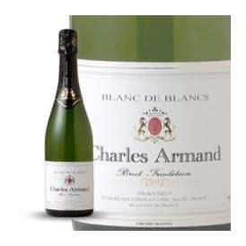 【円高還元セール】高品質スパークリングワイン フランススパークリングワイン シャルル・アルマン(辛口・泡) 750ml 【高品質お手頃ワイン】