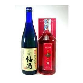 リキュールおすすめ2本セット(本格梅酒・野いちごの恋) 【女性に人気のリキュール】