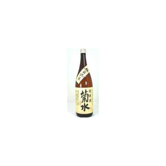 【送料無料6本セット】菊水酒造 菊水 純米酒 1800ml×6本01