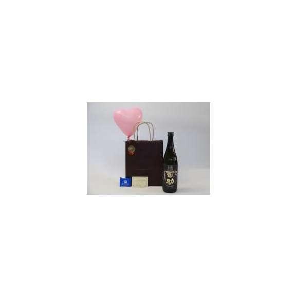 ホワイトデー焼酎セット(井上酒造 初代百助 麦焼酎 25° 720ml(大分県))メッセージカード ハート風船 ミニチョコ付き01