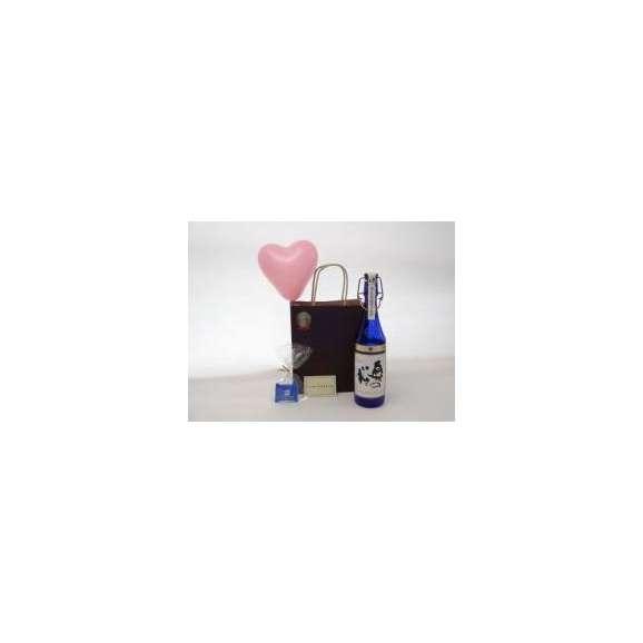 ホワイトデーセットギフトセットスパークリング日本酒セット(勝利の美酒スパークリング日本酒手造り純米大吟醸FN奥の松720ml[福島県])メッセージカードハート風船ミニチョコ付き