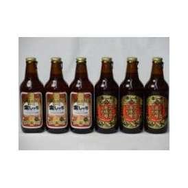 クラフトビールパーティ6本セット 金しゃちアルト330ml×3本 名古屋赤味噌ラガー330ml×3本