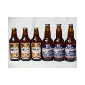 クラフトビールパーティ6本セット 金しゃちアルト330ml×3本 横浜ラガー330ml×3本