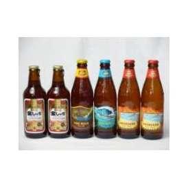 クラフトビールパーティ6本セット 金しゃちアルト330ml×2本 ハワイコナビールファイアーロック・ペールエール355ml ビッグウェーブ・ゴールデンエール355ml ロングボードアイランドラガー35