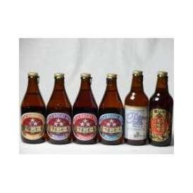 クラフトビールパーティ6本セット 名古屋赤味噌ラガー330ml プラチナエール330ml ミツボシヴァイツェン330ml ミツボシウィンナスタイルラガー330ml ミツボシピルスナー330ml ミツボ