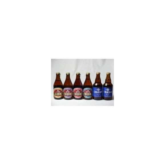 クラフトビールパーティ6本セット コエドRuri333ml×2本 ミツボシヴァイツェン330ml ミツボシウィンナスタイルラガー330ml ミツボシピルスナー330ml ミツボシペールエール330ml01