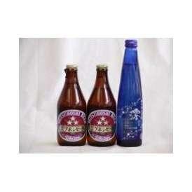 クラフトビールパーティ3本セット ミツボシヴァイツェン330ml×2本 日本酒スパークリング清酒(澪300ml)