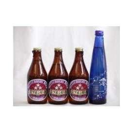 クラフトビールパーティ4本セット ミツボシヴァイツェン330ml×3本 日本酒スパークリング清酒(澪300ml)