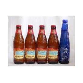 クラフトビールパーティ5本セット ハワイコナビール(ロングボードアイランドラガー355ml×4)日本酒スパークリング清酒(澪300ml)