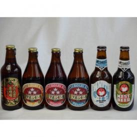 クラフトビールパーティ6本セット 名古屋赤味噌ラガー330ml ミツボシウィンナスタイルラガー330ml ミツボシピルスナー330ml ミツボシペールエール330ml 常陸野ネストアンバーエール330