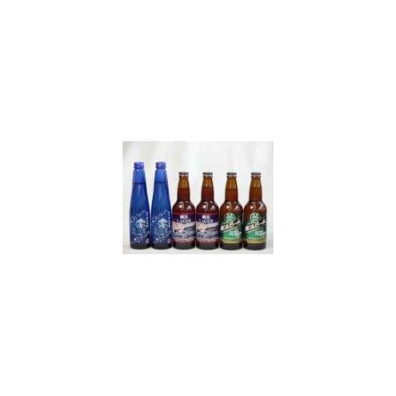 スパークリングパーティ6本セット 日本酒スパークリング清酒(澪300ml)×2本 (横浜ラガー330ml×2本 横浜ビールピルスナー330ml×2本)01