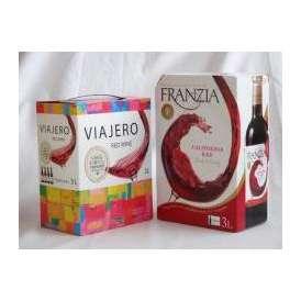 大容量飲み比べセット(ヴィアヘロ 赤ワイン ミディアムボディ 3000ml フランジア カリフォルニア 赤ワイン やや辛口 3000ml)