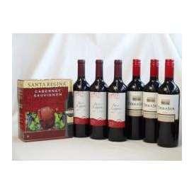 チリ産大容量赤ワイン飲み比べセット(サンタ・レジーナ カベルネ・ソーヴィニヨン 赤ワイン フルボディ3000ml クレマスキ リゲロ・ロッソ チリ赤ワイン ミディアムボディ 750ml×3 テラ・スル