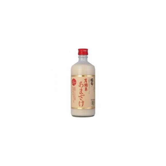 国菊有機米あまざけ(甘酒)ノンアルコール500ml×4本篠崎(福岡)01