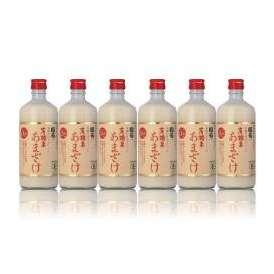 国菊有機米あまざけ(甘酒)ノンアルコール500ml×6本篠崎(福岡)