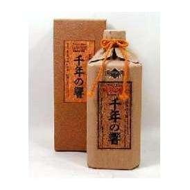 今帰仁酒造 長期熟成古酒 泡盛 千年の響 25度 720ml 【泡盛古酒】