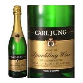 【円高還元セール】脱アルコールスパークリングワイン 750ml(カールユング  (ノンアルコールワイン)アルコール1%未満 ドイツ白ワイン) 【高品質お手頃ワイン】