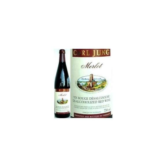 脱アルコールワイン赤750ml(カ−ルユングメルロー 750ml ドイツ赤ワイン)01