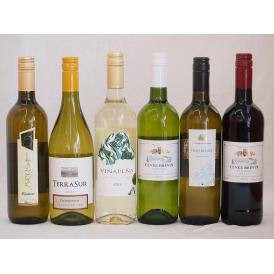 高品質豪華ワインセット★【特選】高品質ワイン6本福袋(白5本、赤1本)750ml×5本