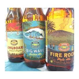 【ギフト対応OK】【送料無料】コナビール飲み比べ3本セット ハワイNO.1の本格的麦芽100%ビールセット 【コナビール】