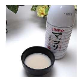 【送料無料】【ケース】JINRO(眞露) マッコリ1000ml×15本 【マッコリ】