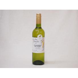 フランス金賞白ワイン ル プティソムリエシャルドネ2018年 やや辛口 750ml×2本