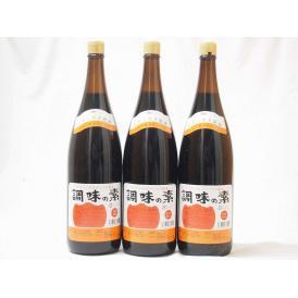 調味の素カツオだし入 ヤマコノのデラックス醤油 味噌平醸造(岐阜県)瓶 1800ml×3