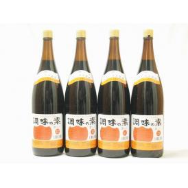 調味の素カツオだし入 ヤマコノのデラックス醤油 味噌平醸造(岐阜県)瓶 1800ml×4