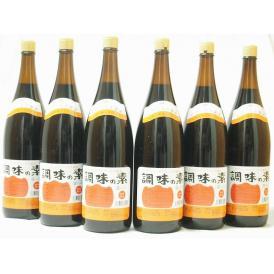 調味の素カツオだし入 ヤマコノのデラックス醤油 味噌平醸造(岐阜県)瓶 1800ml×6