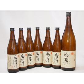 風憚ふうたん7本セット 吹上酒造謹製 本格芋焼酎(鹿児島県) 720ml×6 1800ml×1