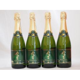おたる醸造 ナイアガラスパークリング白ワイン やや甘口 (北海道)720ml×4