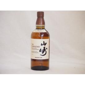 サントリーウイスキー 山崎 シングルモルト 43度 yamazaki whisky(ギフト対応可能) 700ml×1本