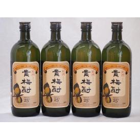 紀州貴梅酎 梅酒スピリッツ25度 中野BC(和歌山県)720ml×4
