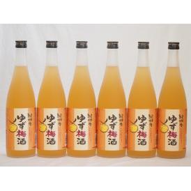 紀州のゆず梅酒 中野BC(和歌山県)720×6本