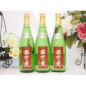 富士の光 純米酒 安達本家酒造(三重県) 720ml×3本