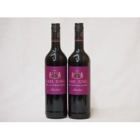 2本セット(脱アルコール赤ワイン カールユング メルロー) 750ml×2本