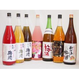 贅沢梅酒7本セット(おばあちゃんの梅酒 芳醇ブランデー仕立チョーヤ梅酒 ローズ梅酒(愛知) 青梅使用