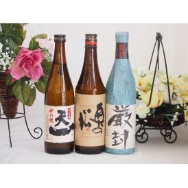 日本酒決定版3本セット(厳封 生貯吟醸 奥の松 吟醸(福島県) 早川酒造 天一純米(三重県)) 72